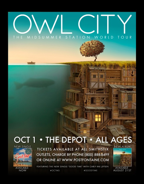 OWL CITY -- The Depot 10.1.2012